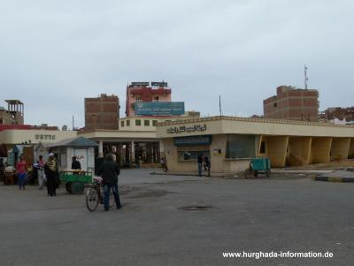 Upper Egypt Bus Station Hurghada