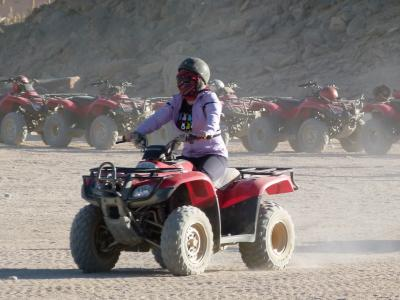 Quad,Beach Buggy, Wüste