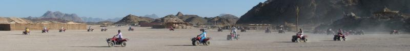 Wüstensand, Safari Quads