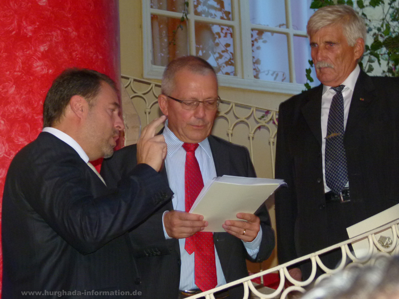 Vereidigung Honorarkonsul Hurghada